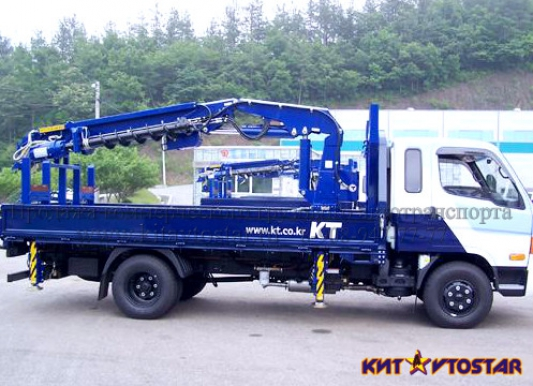 Продажа корейских автобуровых (кран-буровых) установок Hyundai (Хундай, Хендай, Хендэ) HD 78.
