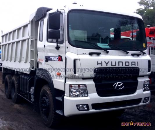 самосвал hyundai полная масса 22 тонны